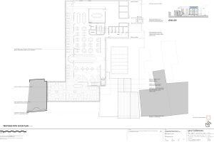 rooftop restaurant floor plan